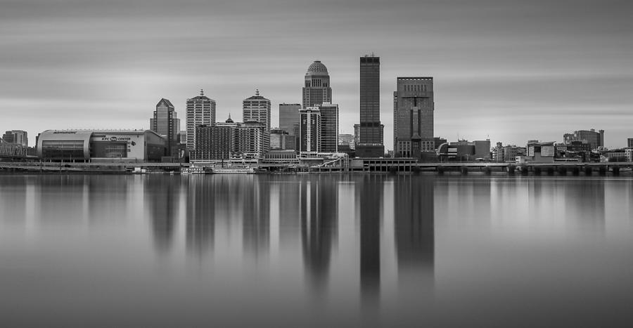 Louisville Black And White Long Exposure by Dan Sproul