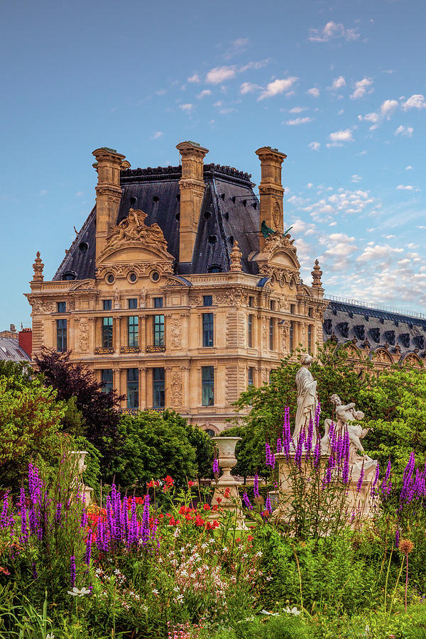 Louvre in the Spring by Andrew Soundarajan