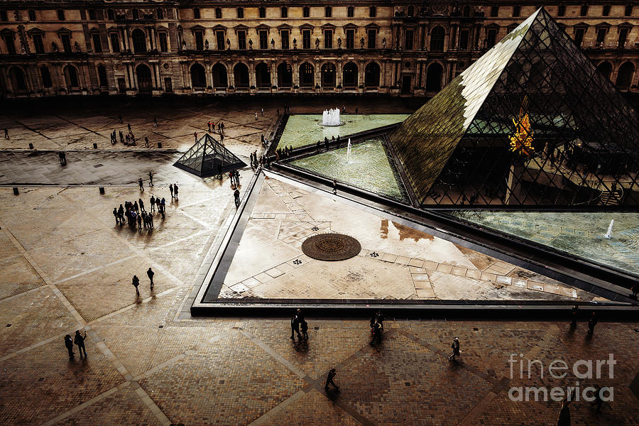 Louvre Pyramid by Miles Whittingham
