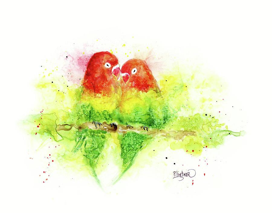 Love Birds by Patricia Lintner