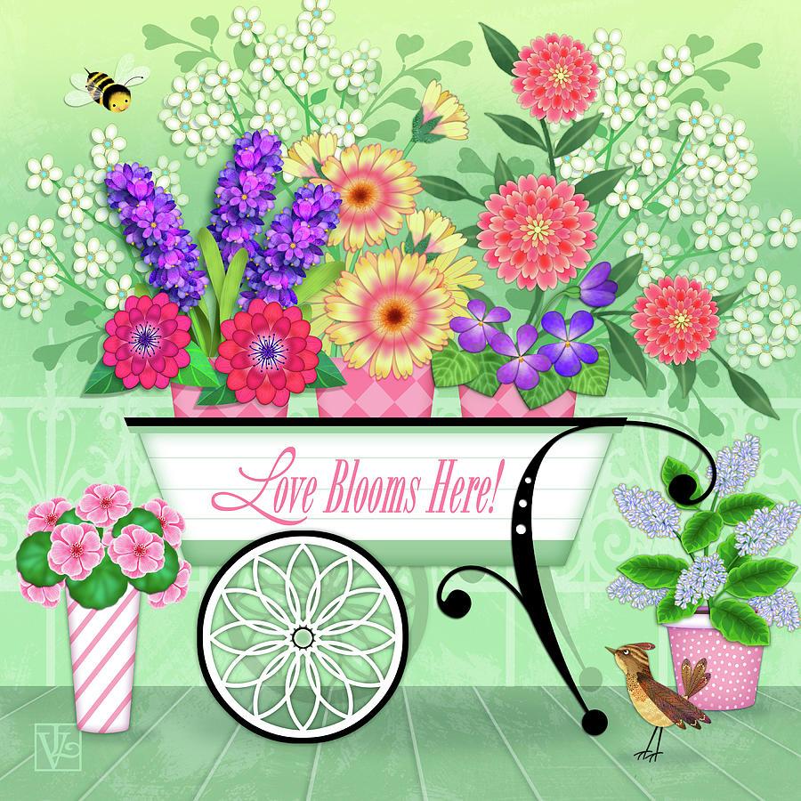 Love Blooms Here by Valerie Drake Lesiak