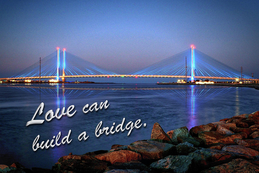 Love Can Build A Bridge Indian River by Bill Swartwout Photography