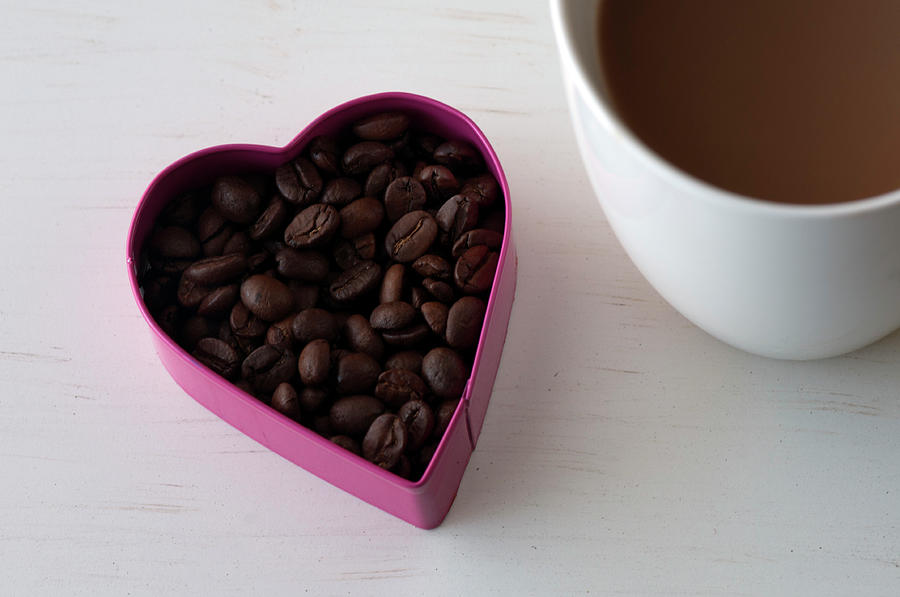 Love Coffee Photograph by Carolyn Hebbard