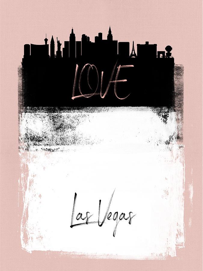 Dallas Mixed Media - Love Dallas by Naxart Studio