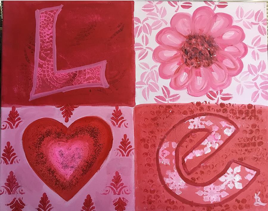 LOVE by Karen Buford