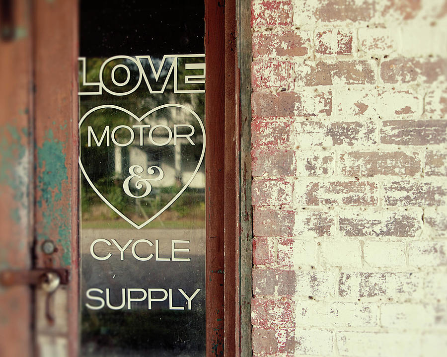Love Motor And Cycle Photograph