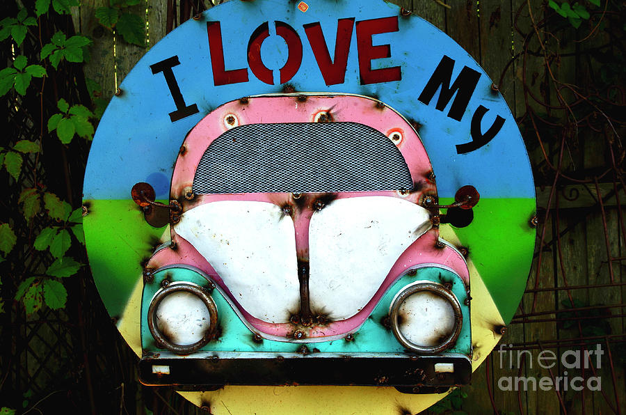 Love my VolksWagen by Randy Pollard