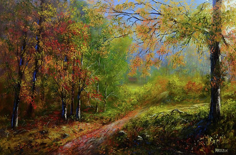 Love Of Fall Painting