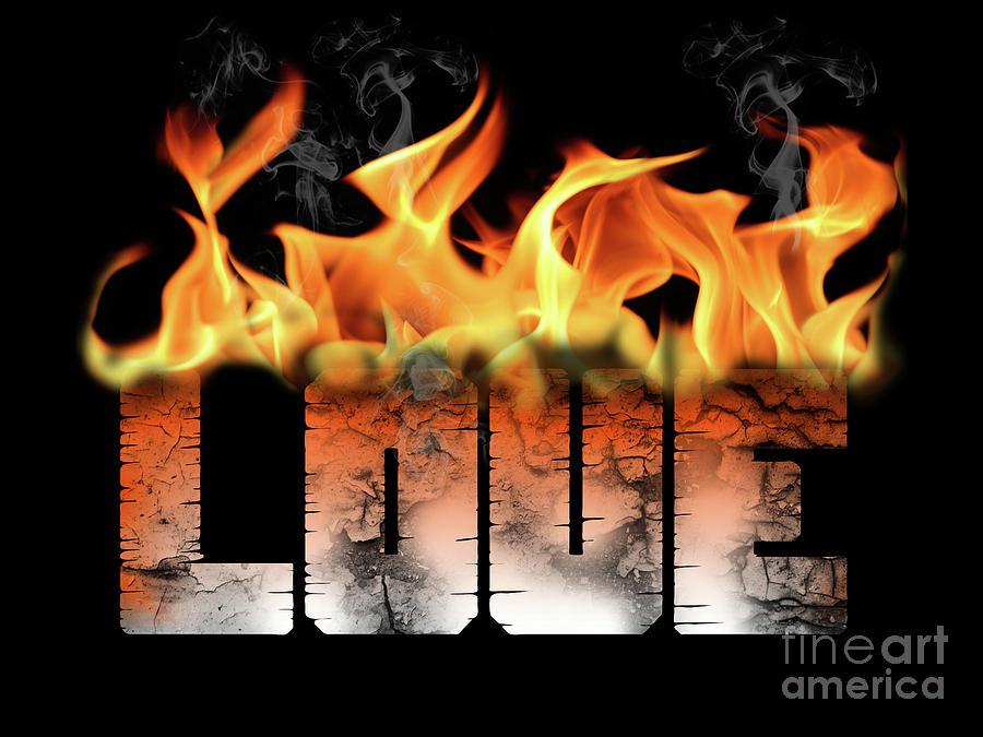 Love on Fire Text by Valerie Garner