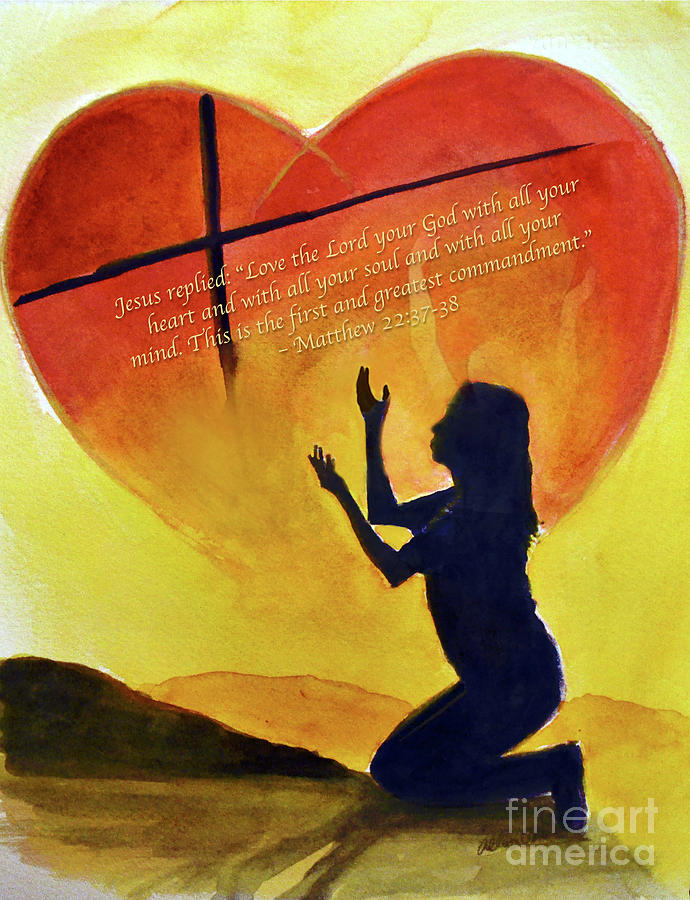 Love The Lord Painting