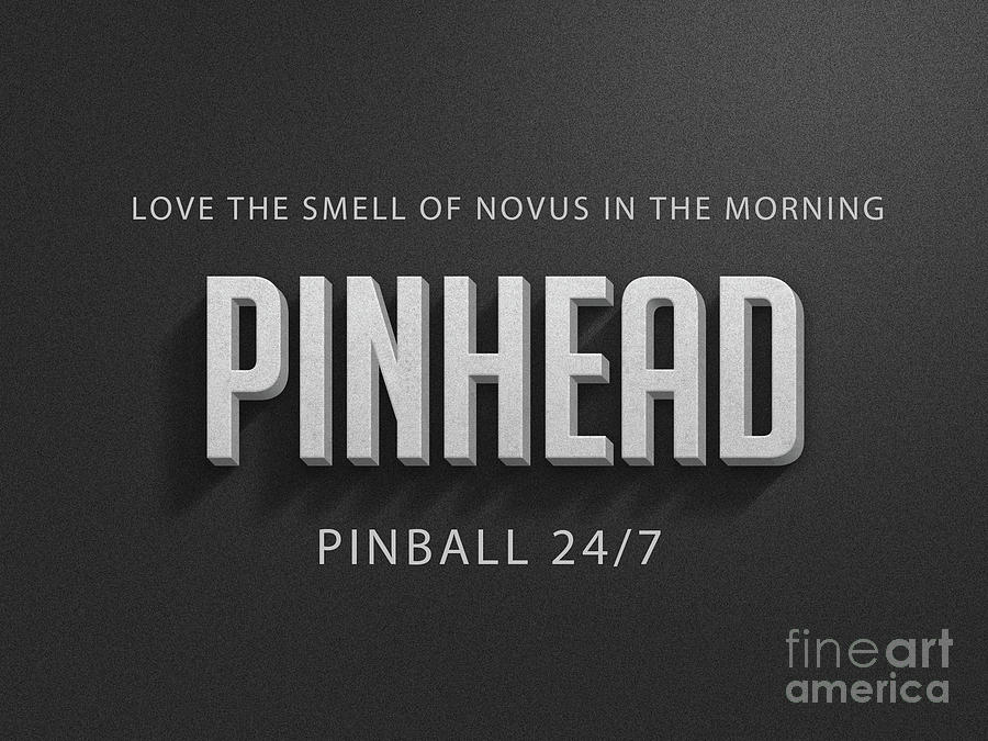 Pinhead Digital Art - Love The Smell Of Novus In The Morning by Edward Fielding
