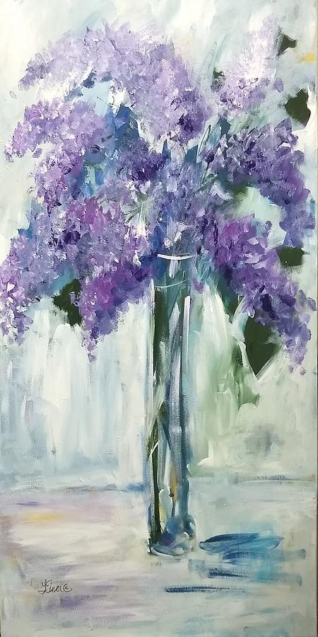 Love Those Lilacs by Terri Einer