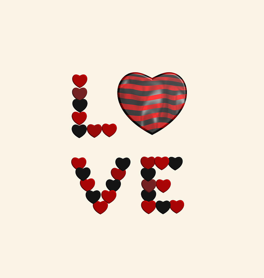 Love to black and red stripes by Alberto RuiZ