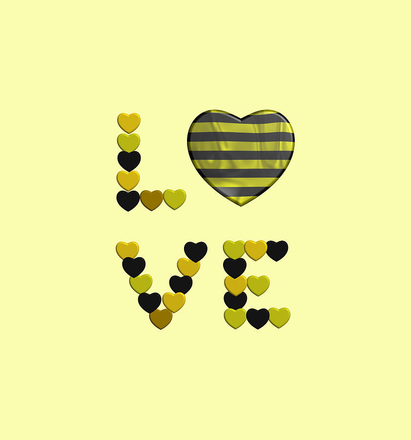 Love to black and yellow stripes by Alberto RuiZ