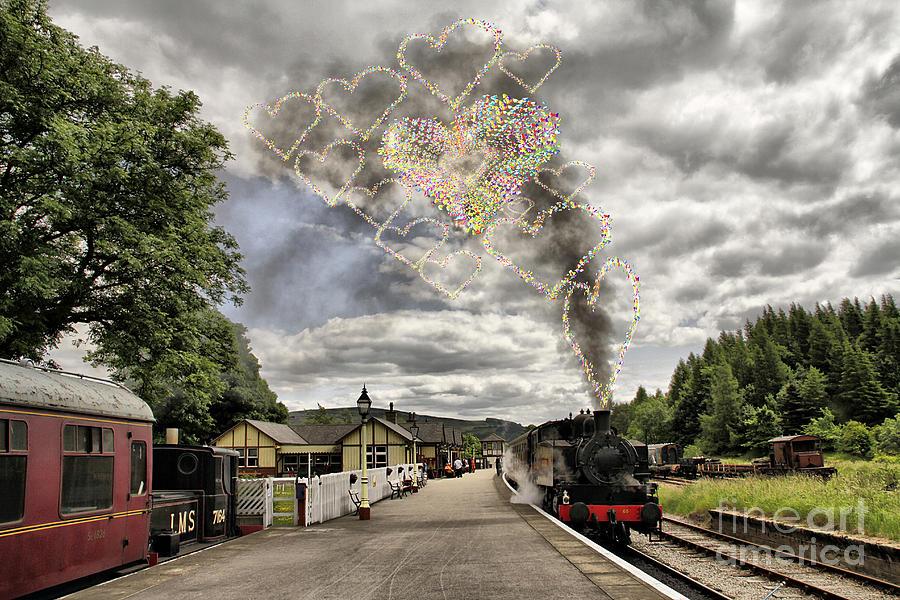 Love Train Photograph