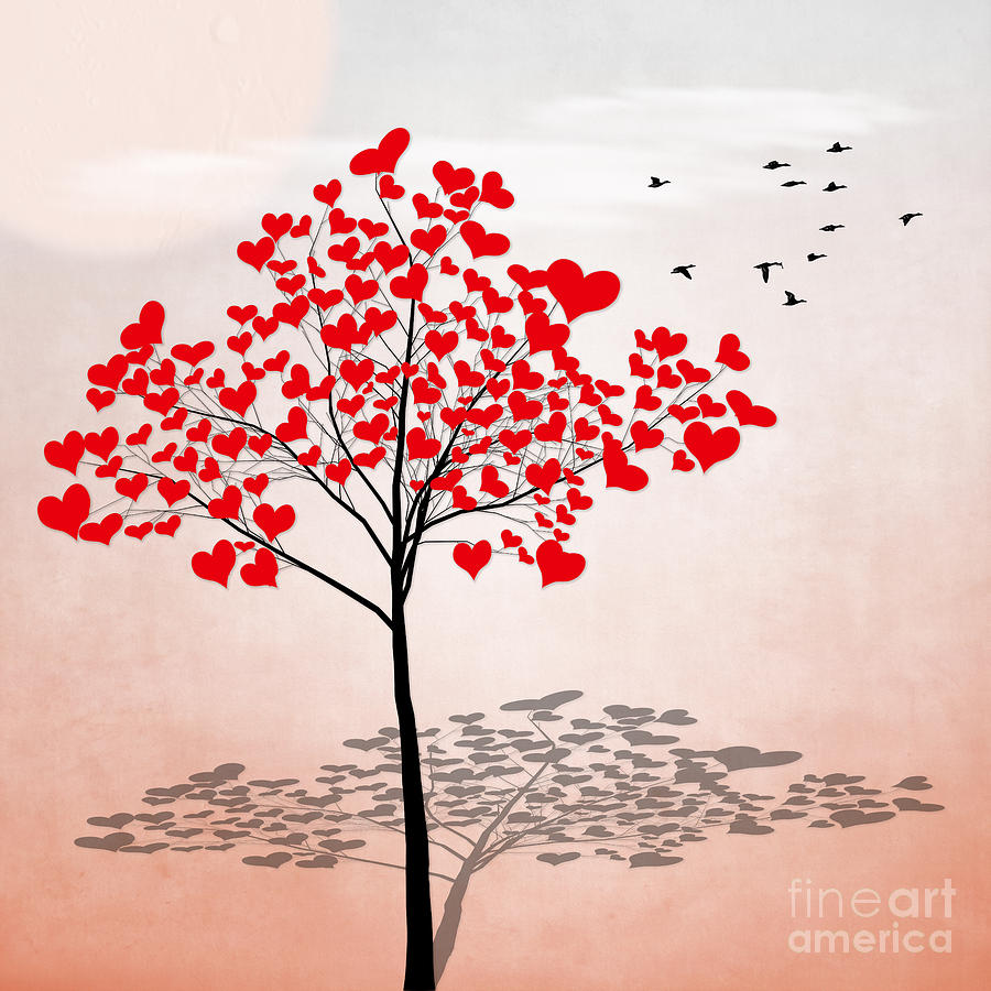 Love Tree 1 by Hal Halli