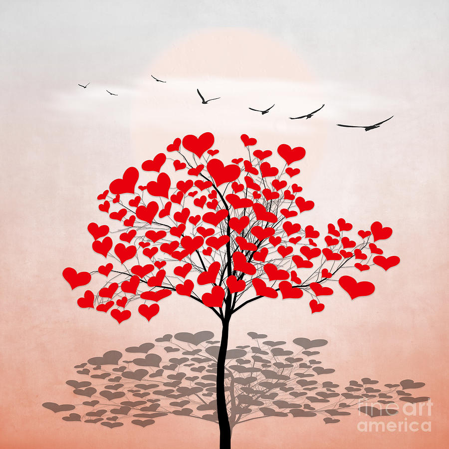 Love Tree 3 by Hal Halli