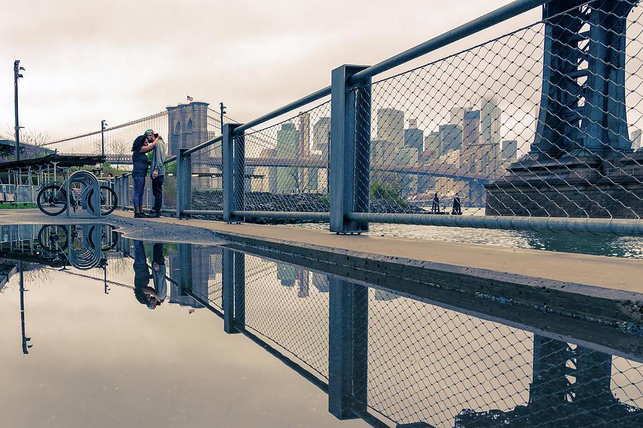 Love Under the Bridge by Marzena Grabczynska Lorenc