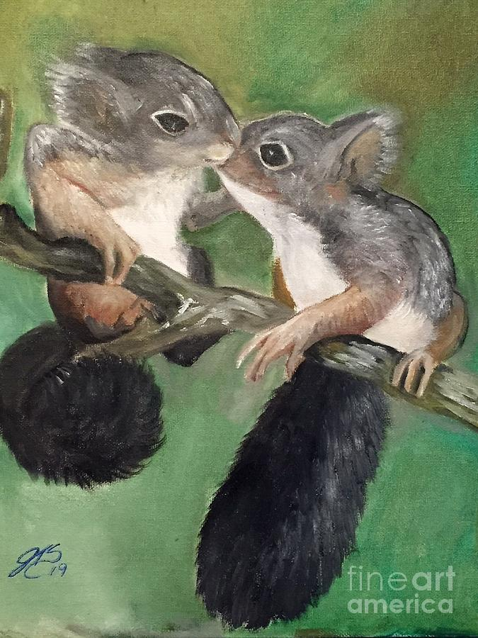 Love you Squirrels by Jennifer Thomas