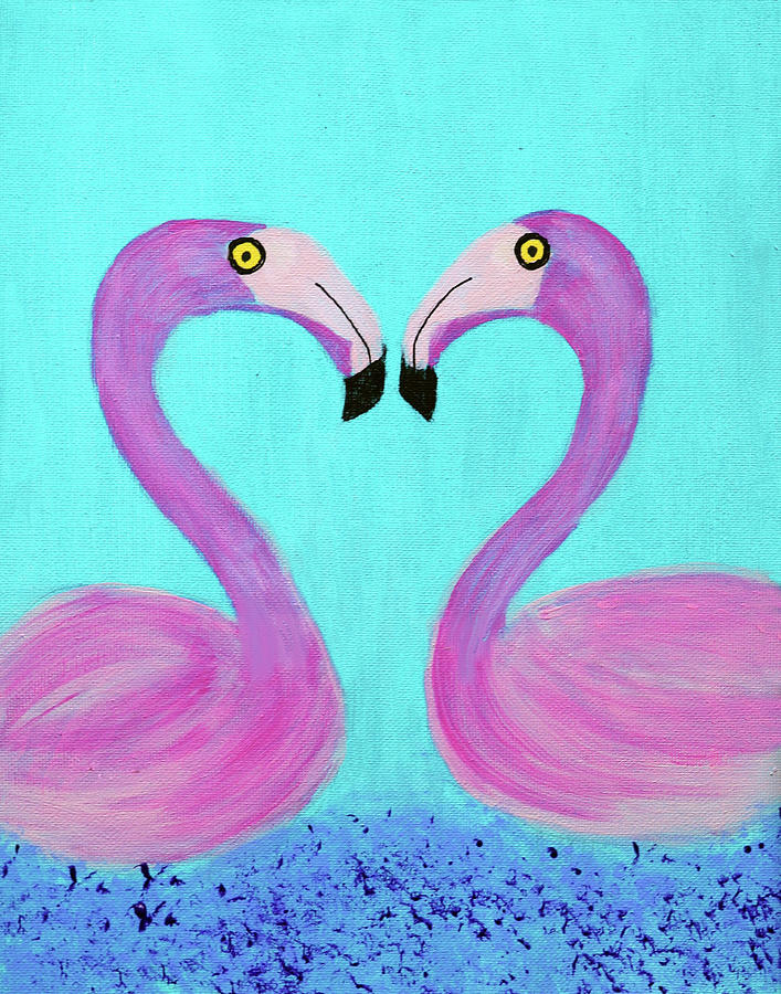 Lovebirds by Deborah Boyd