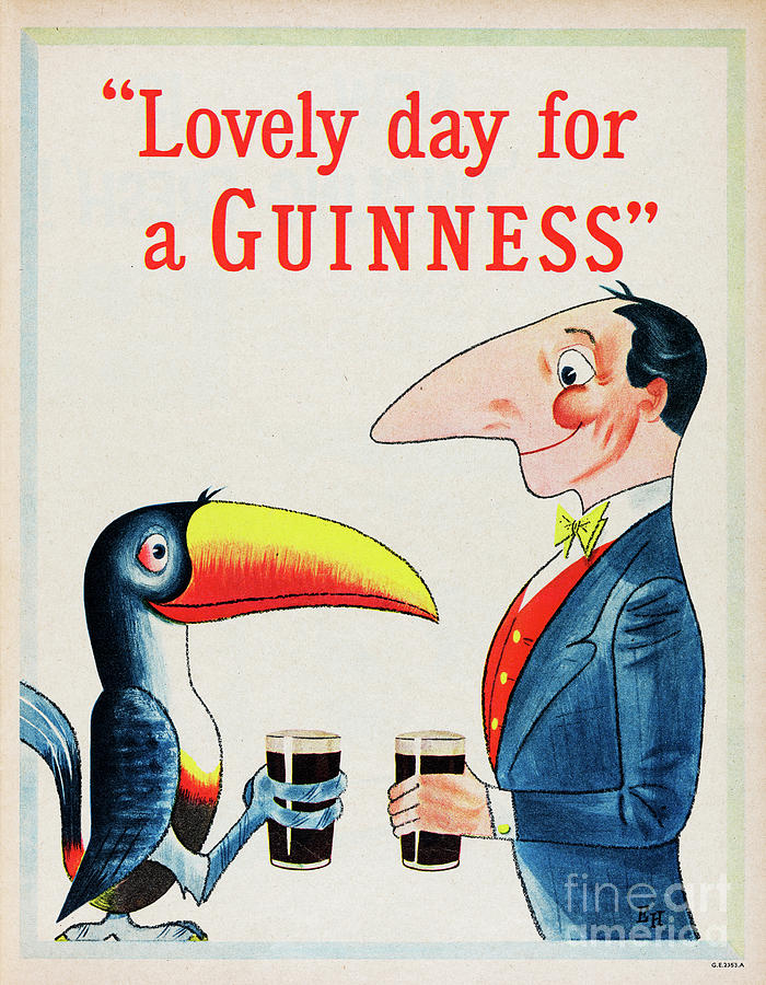 Lovely Day For A Guinness Photograph by Picture Post