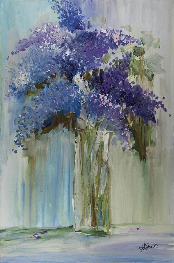 Lovely Lilacs by Terri Einer