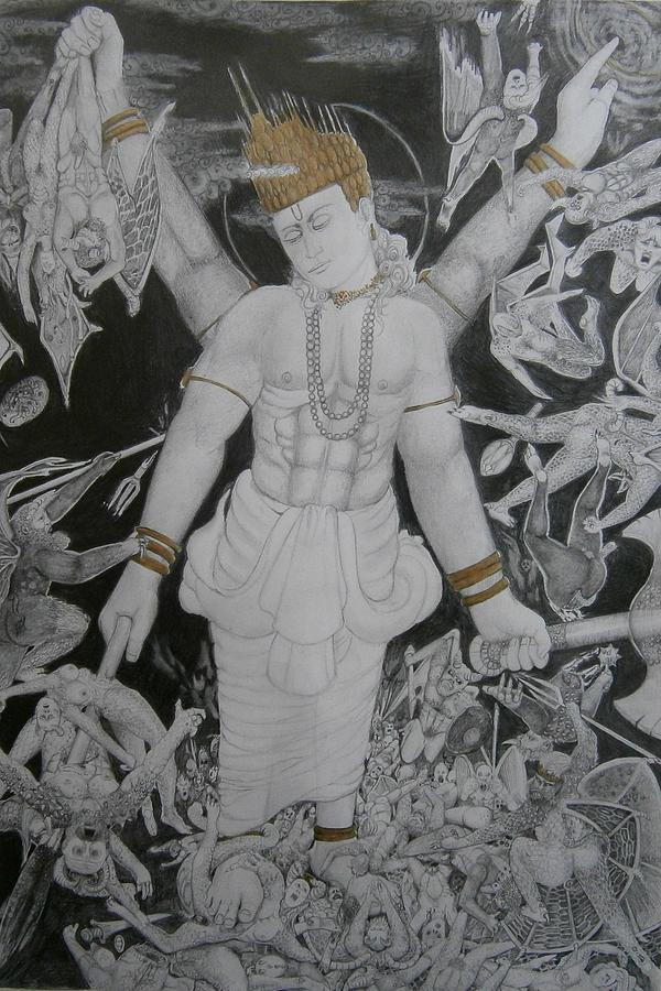 Lover, King, Killer Of Demons by Balkishan Jhumat