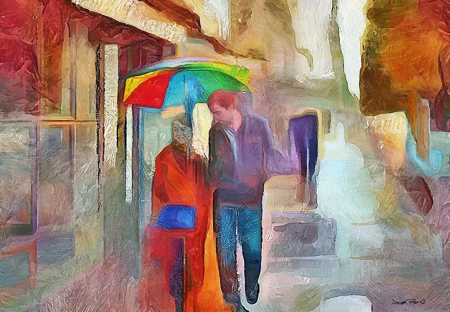 Lovers Walk by Wayne Pascall
