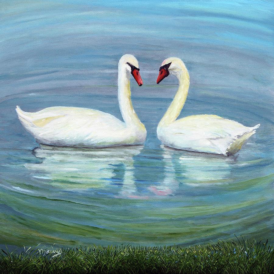 Loving Swan by Alicia Maury