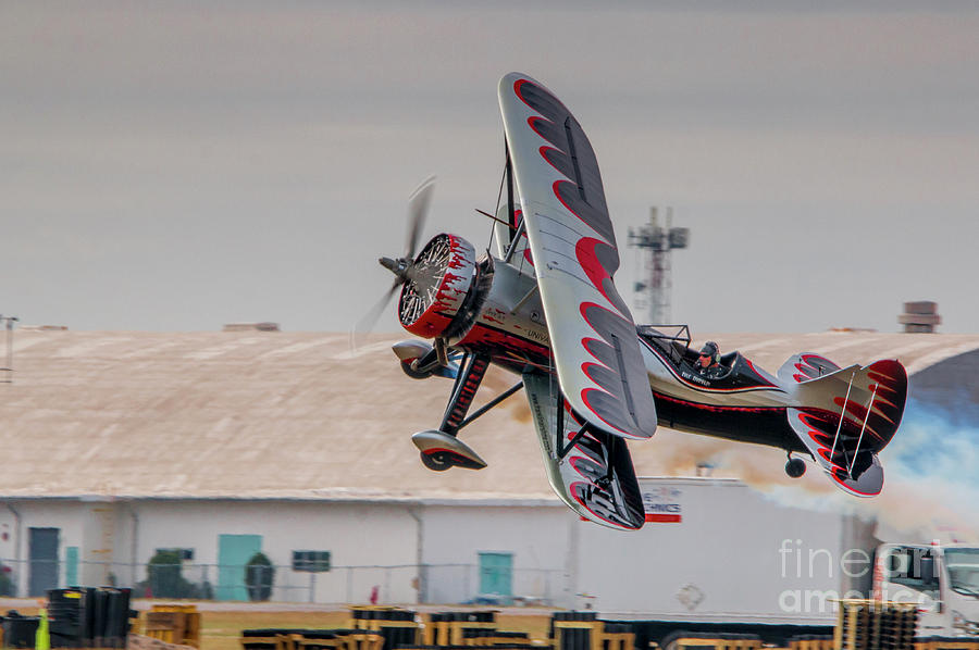 Low and Slow Biplane by Tom Claud