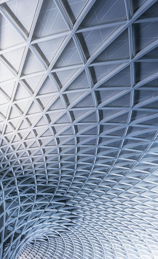 Low Angle View Of Kings Cross Station Photograph by Terenceleezy