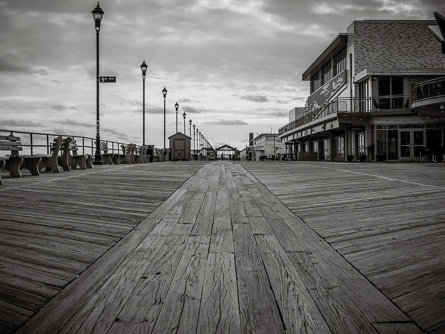 low on the boardwalk by Steve Stanger