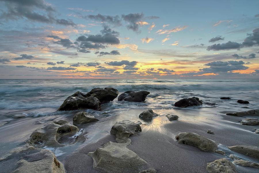Low Tide Sunrise by Steve DaPonte