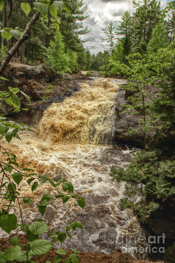 Lower Amnicon Falls Photograph