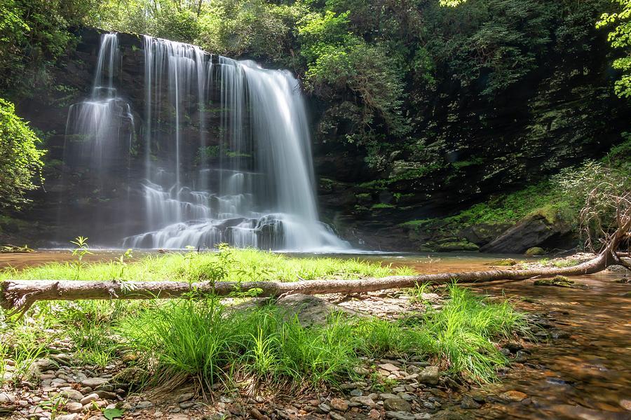 Lower Bearwallow Falls by Chris Berrier