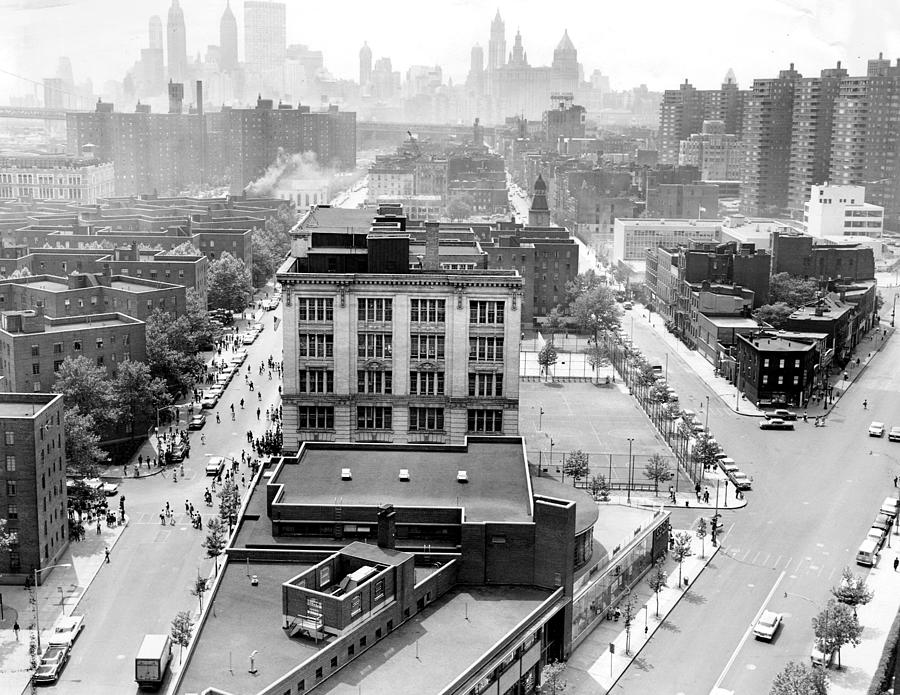 Lower East Side, On The Left Is Madison Photograph by New York Daily News Archive