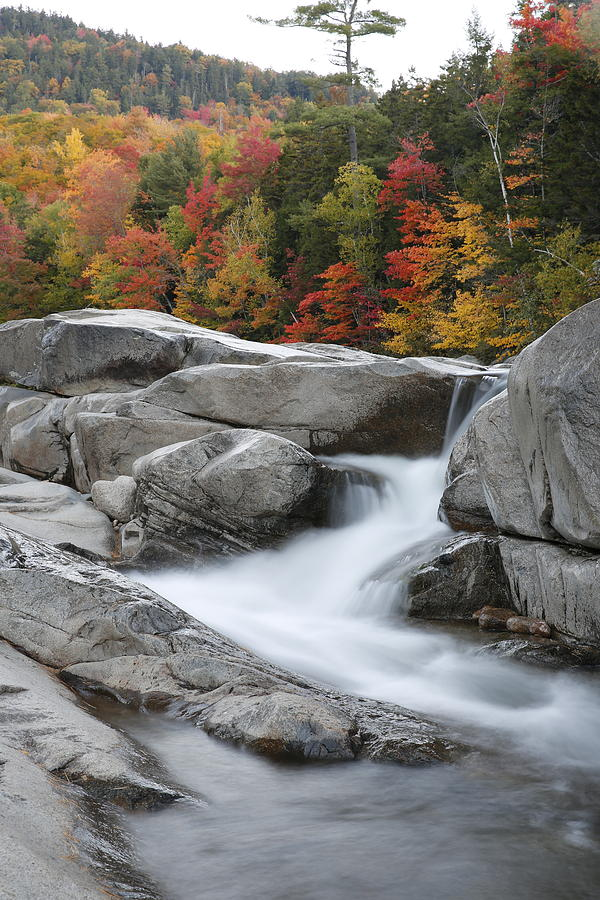 Lower Falls, New Hampshire by Greg Parsons