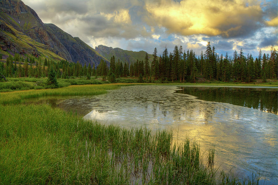 Lower Ice Lake Basin Photograph by A. V. Ley
