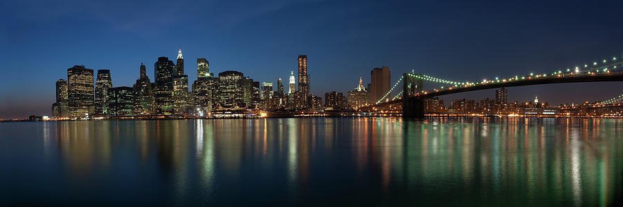 Lower Manhattan New York City Skyline Photograph by Thepixelchef