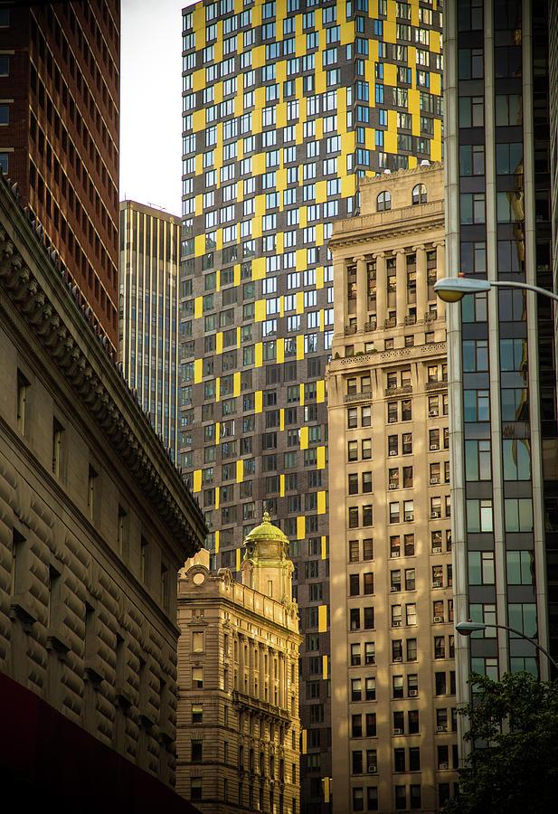 Lower Manhattan Office Towers Photograph by Hal Bergman