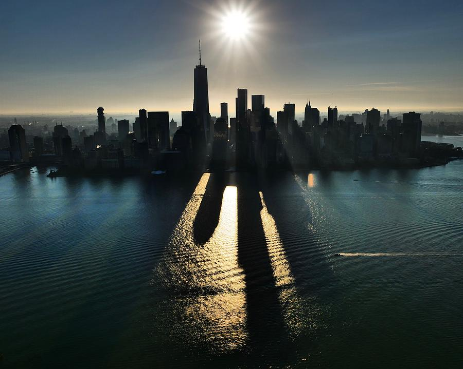 Lower Manhattan Sunrise by JACK RIORDAN