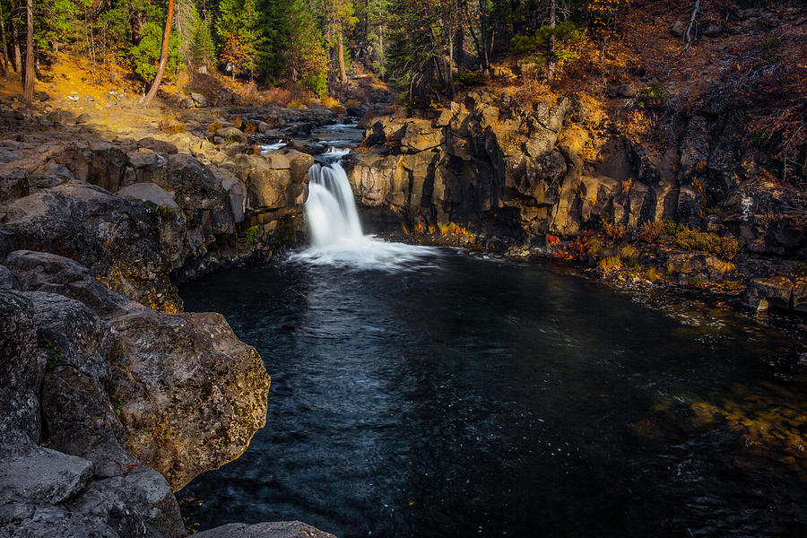Lower McCloud River and Falls by Don Hoekwater Photography