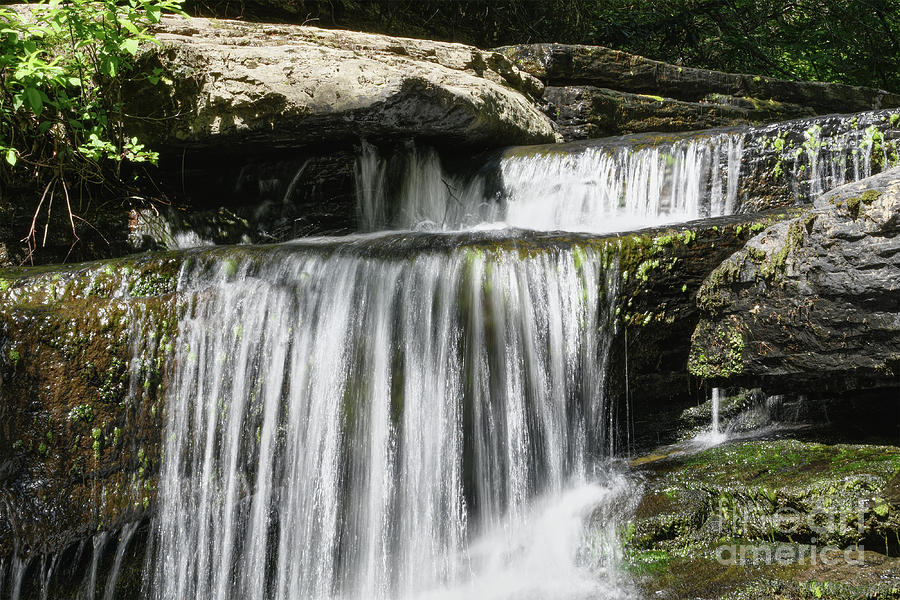 Lower Piney Falls 2 by Phil Perkins