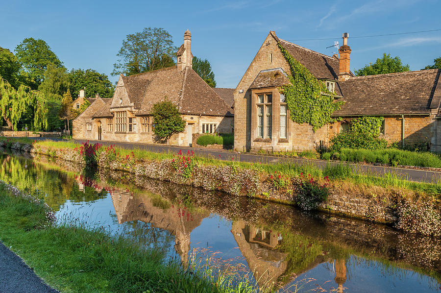 Cotswolds Photograph - Lower Slaughter And The River Eye by David Ross