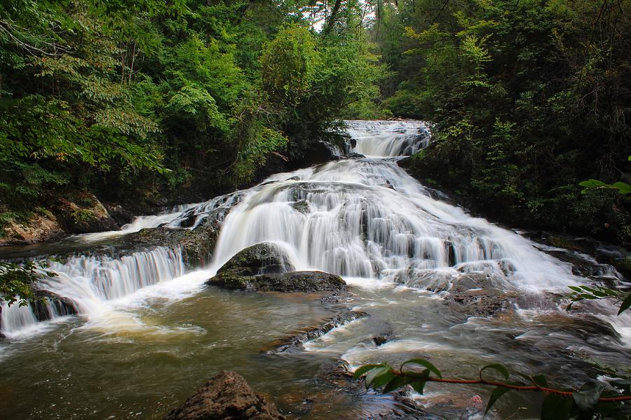 Lower Turtletown Falls by Richard Parks