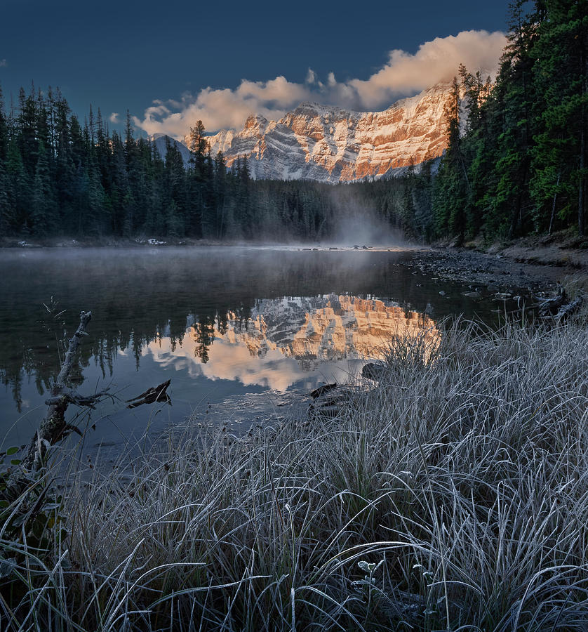 Lower Waterfowl Lake by Dan Jurak