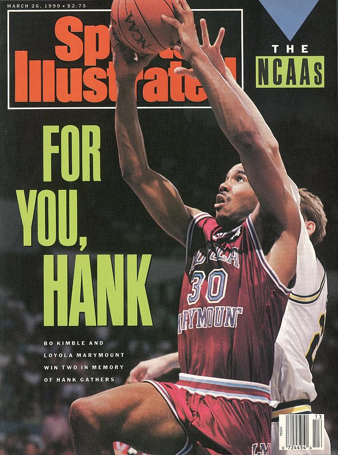 Loyola Marymount Bo Kimble... Sports Illustrated Cover Photograph by Sports Illustrated