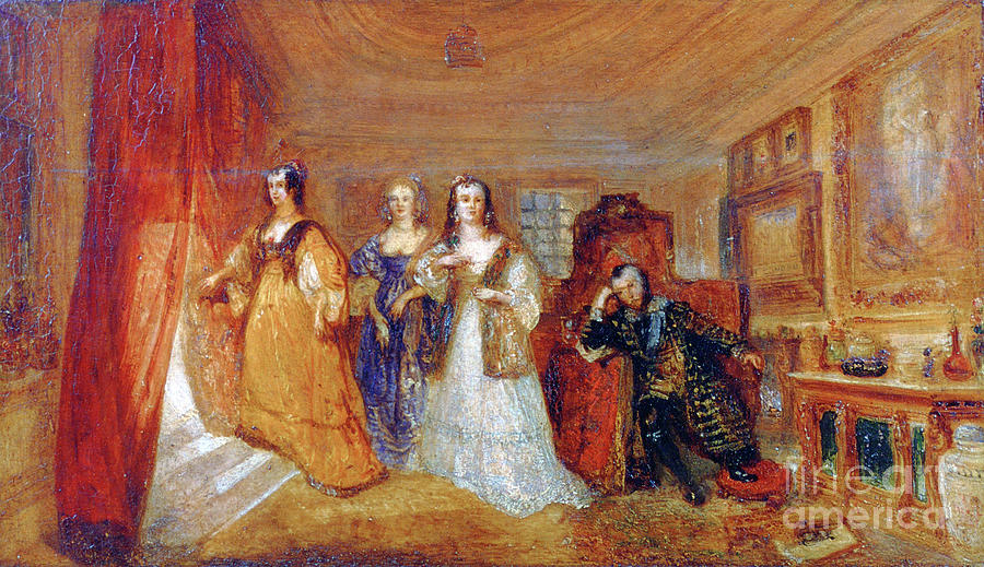 Lucy, Countess Of Carlisle, And Dorothy Drawing by Print Collector