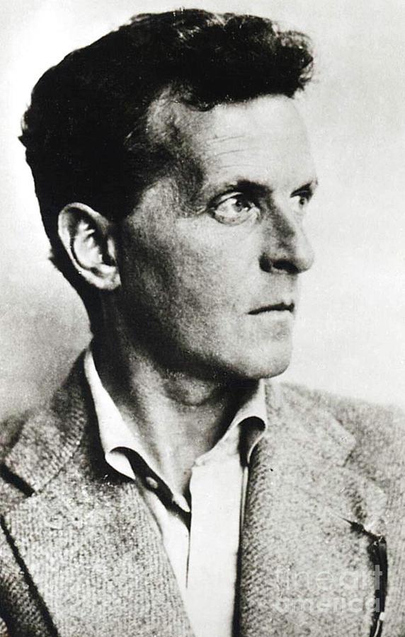 Wittgenstein Photograph - Ludwig Josef Johan Wittgenstein by English School