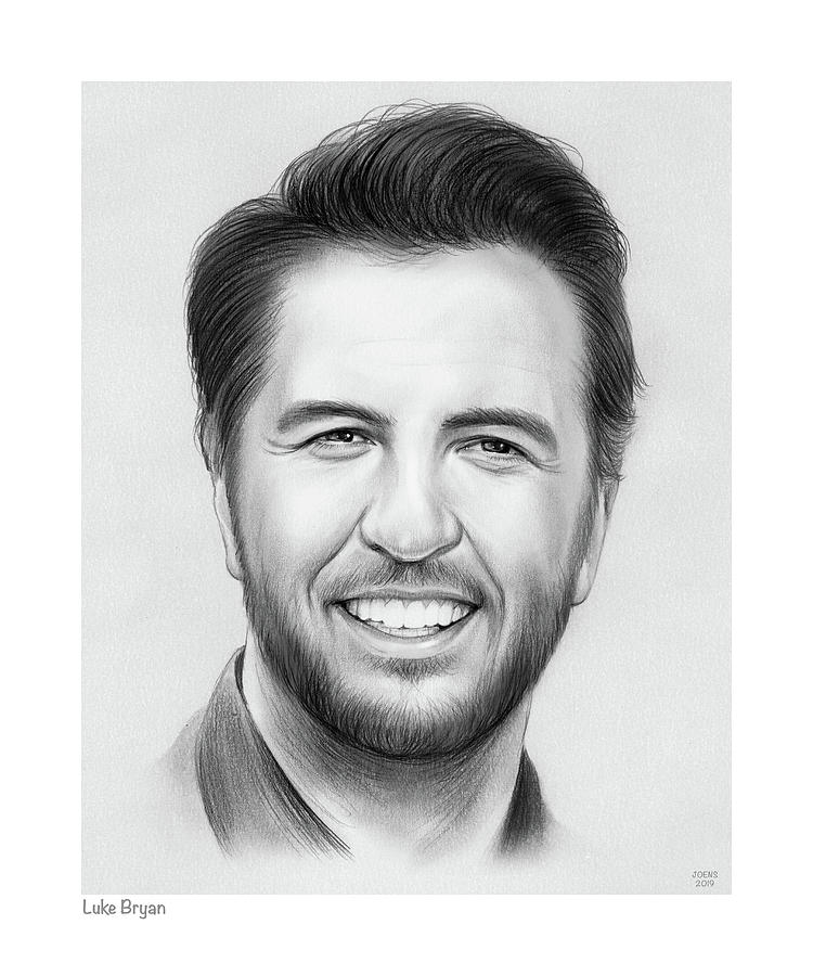 Luke Bryan by Greg Joens